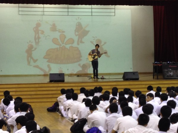 Nathan Hartono at School Invasion Tour